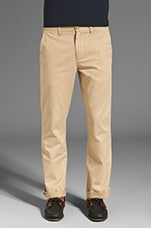 7oz Slim Fit Chino en kaki