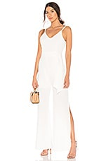 Line & Dot Marlien Jumpsuit in White