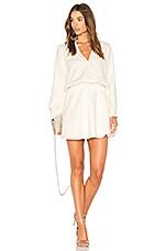 Line & Dot Marais Dress in White