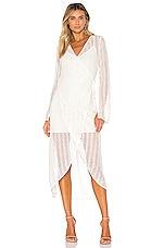 Line & Dot Zurie Dress in White
