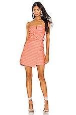 Line & Dot Zoe Dress in Orange