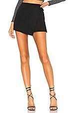 Line & Dot Zoey Skort in Black
