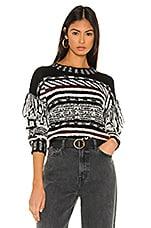 Line & Dot Allie Sweater in Multi