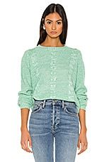 Line & Dot Delilah Sweater in Mint