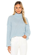 Line & Dot Bea Sweater in Sky Blue