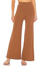 Line & Dot Lynn Sweater Pants in Mocha