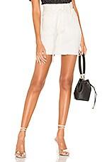 Line & Dot Victory Skirt in White