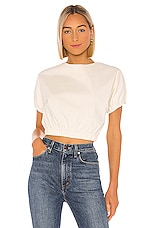 Line & Dot Everson Set Top in Off White