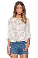 Infinite Blouse en Blanc