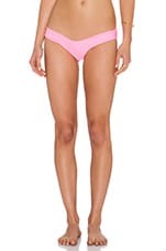 The Maui Bikini Bottom in Tropical Pink