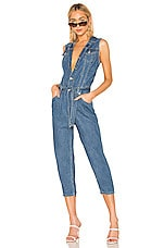 LEVI'S Cropped Taper Jumpsuit in Delicate Condition