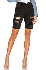 LEVI'S Slouch Short in Black Mark