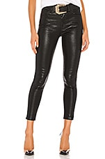 LEVI'S Mile High Ankle Skinny in Black Serpent Foil