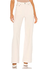 LEVI'S Ribcage Wide Leg in Icy Ecru RC