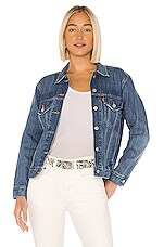 LEVI'S Ex-Boyfriend Trucker Jacket in Groovemarks