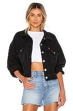 LEVI'S Pleat Sleeve Trucker Jacket in Lady Di