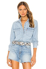 LEVI'S Essential Western Top in Cool Out (2)