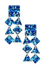 Lele Sadoughi Spotlight Chandelier Earrings in Sapphire