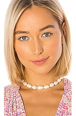 Lele Sadoughi Baroque Freshwater Pearl Necklace in Pearl