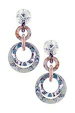 Lele Sadoughi Loop De Loop Earrings in Cloudy Blue