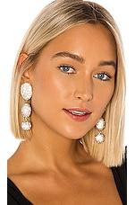 Lele Sadoughi Crystal Bubble Drop Earrings in Crystal