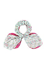 LoveShackFancy Gauze Swim Scrunchies in Multi