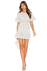 LoveShackFancy Aveline Dress in Seaglass