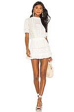 LoveShackFancy Leighton Dress in White
