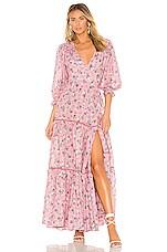 LoveShackFancy Stormi Dress in Hollywood Pink