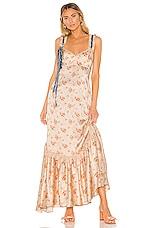 LoveShackFancy Soroya Dress in Scallop Shell