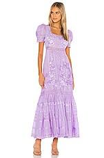 LoveShackFancy Ryan Dress in Lavender