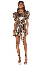 LoveShackFancy Mercy Dress in Midnight Vine