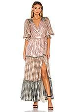 LoveShackFancy Stormi Dress in Multi