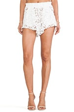 True Waist Short in Ivory