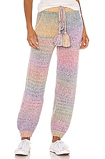 LoveShackFancy Blossom Pant in Rainbow