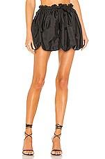LoveShackFancy Cheyenne Skirt in Black