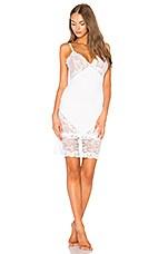 Les Coquines Gemma Slip Dress in Blanc