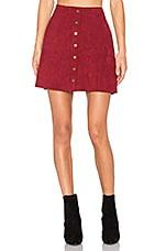 Level 99 Helen A-Line Skirt in Roselle