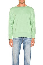 LEVI'S Vintage Clothing Bay Meadows Sweatshirt in Mint Green