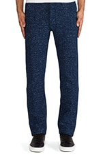 Spoke Chino in Indigo Knit Melee