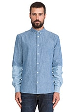 Button Down Shirt in Chambray