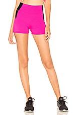 lovewave Eliza Biker Shorts in Fluo Pink