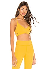 lovewave Brittany Sports Bra in Yellow
