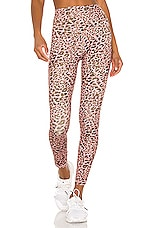 LOVEWAVE The Jackson Pant in Pink Leopard