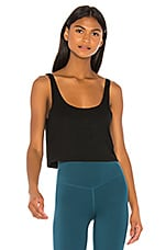LOVEWAVE The Poly Top in Black