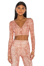 LOVEWAVE The Ana Top in Blush Boa