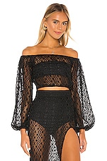 LOVEWAVE Long Island Top in Black