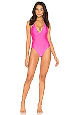 lovewave The Eva One Piece in Pink Sapphire