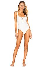 lovewave Santeria One Piece in White