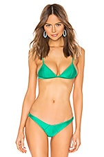 lovewave The Patti Top in Emerald Green